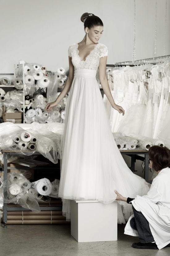 vestido de novia - Angel de Cymberline