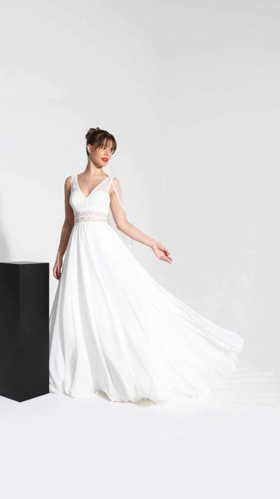 fluide vestido novia cymbeline