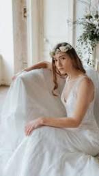 vestido de novia CYMBELINE