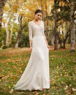 ocle vestido alma novia