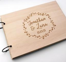 Los libros de firmas más originales para tu boda